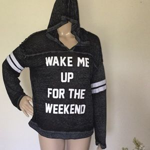 Freeze, Wake Me Up For the Weekend hoodie